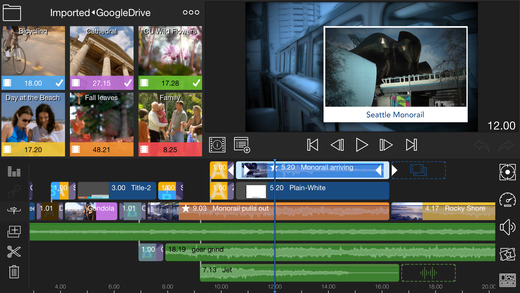 LumaFusion video editing app iOS