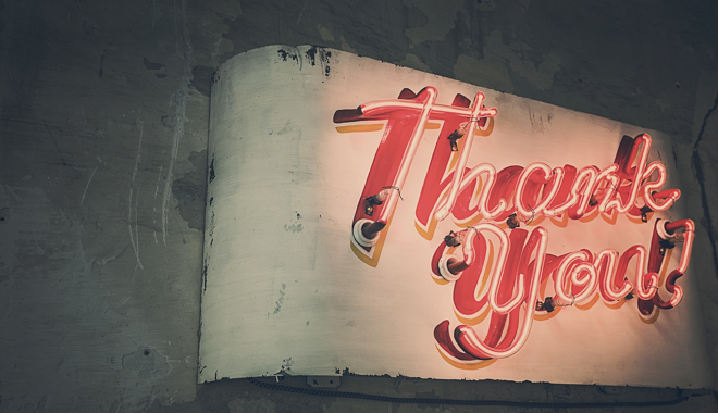 How to Say Thank You with Online Video