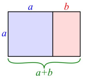 Golden Rectangle for Layout of Frame