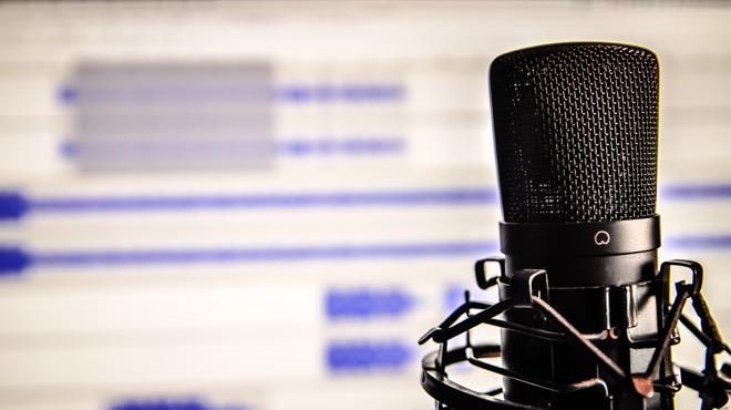 recording a voiceover