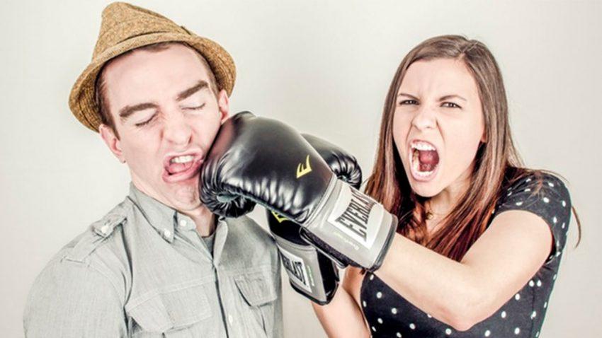 Fake punching