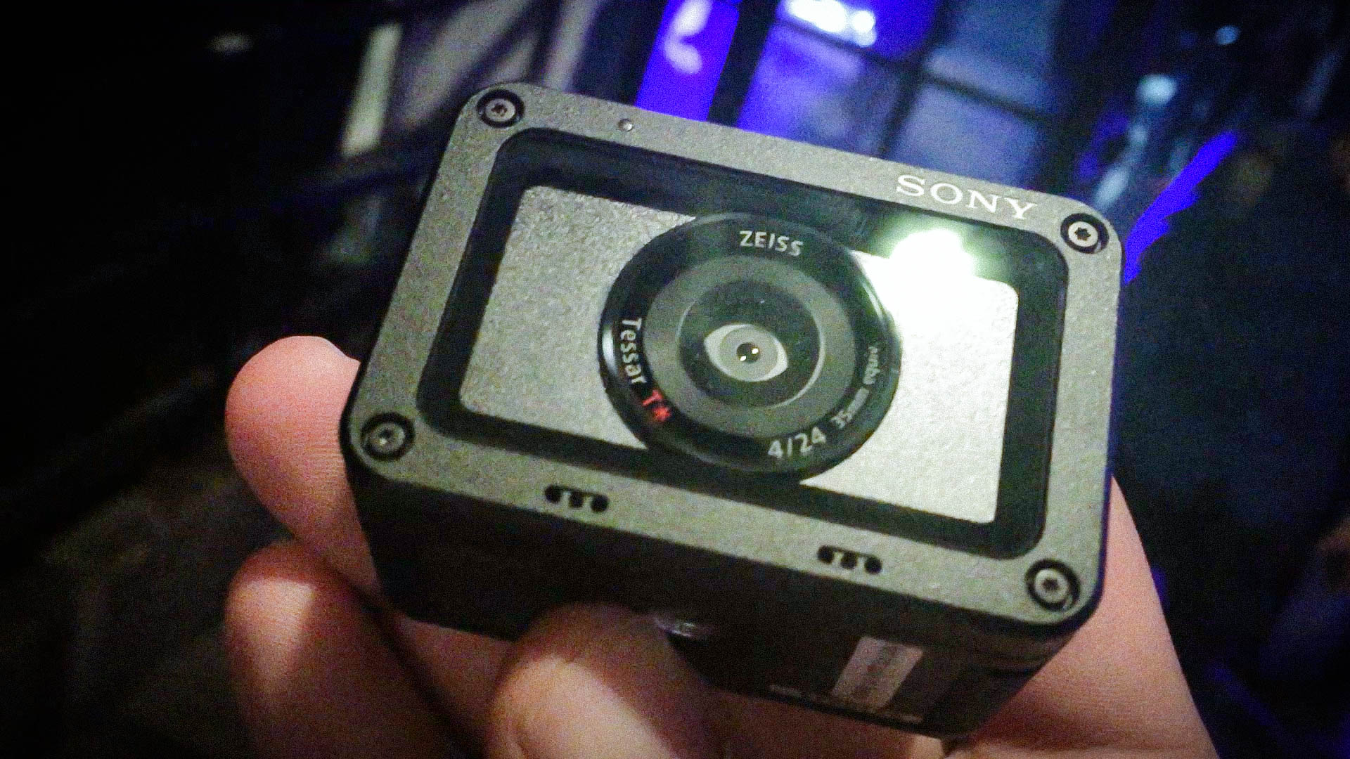 Sony RX0 action cams for business video