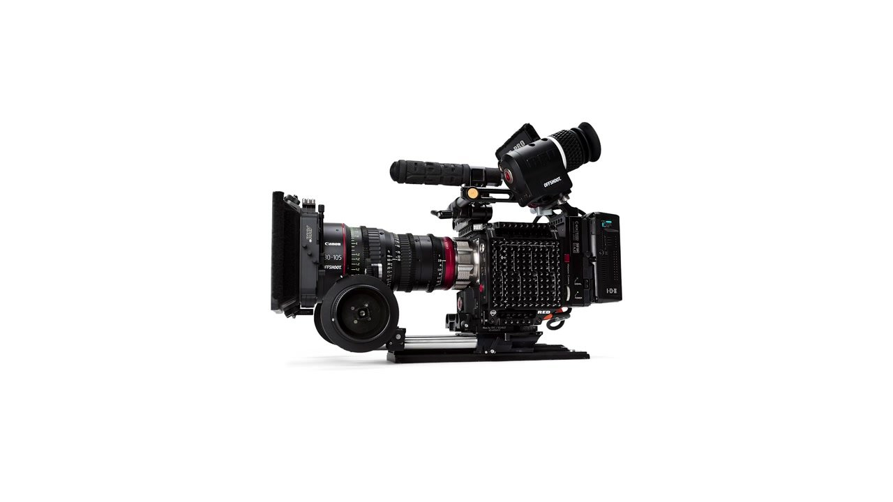 example of a cinema rig video camera