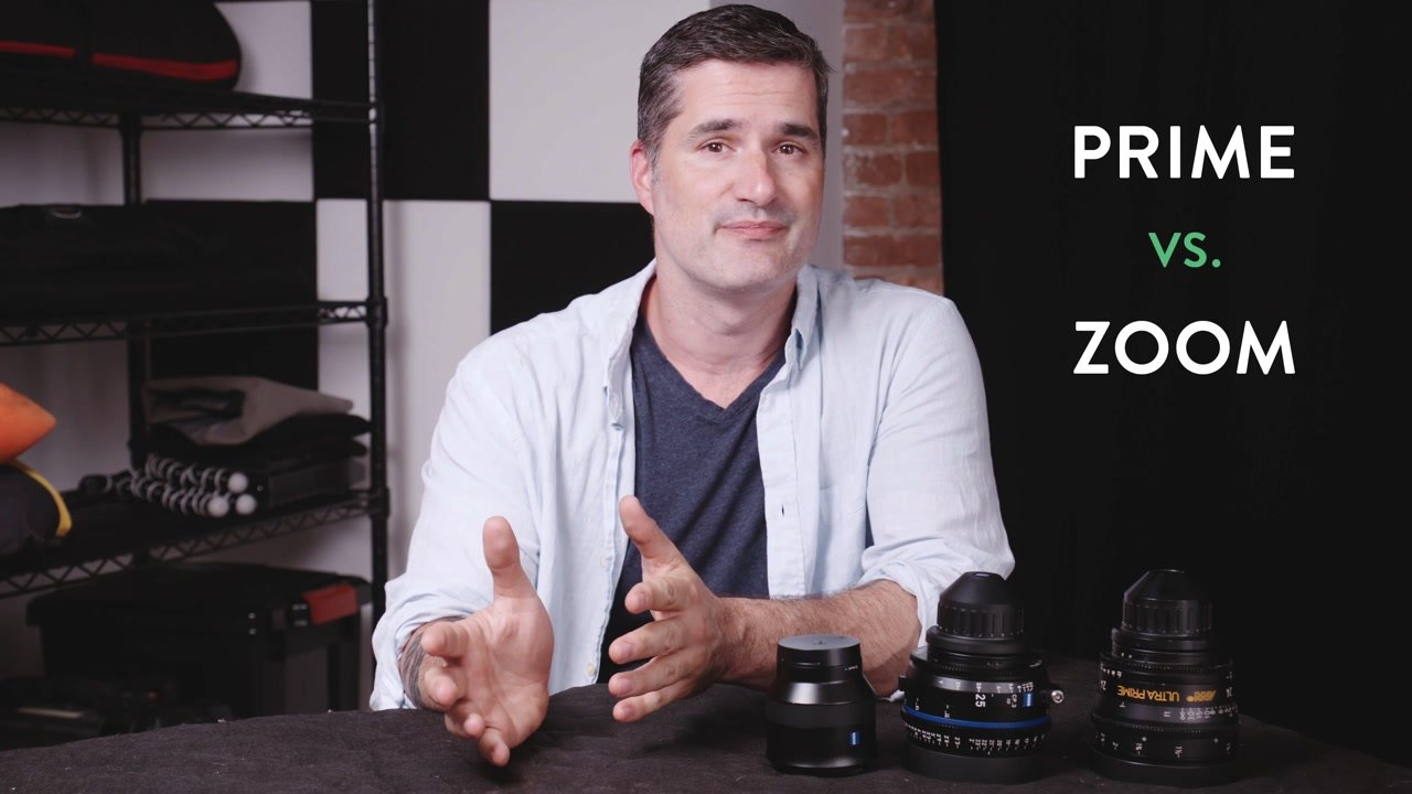 comparing prime and zoom lenses