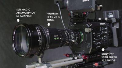 Sony FS7 Anamorphic Setup