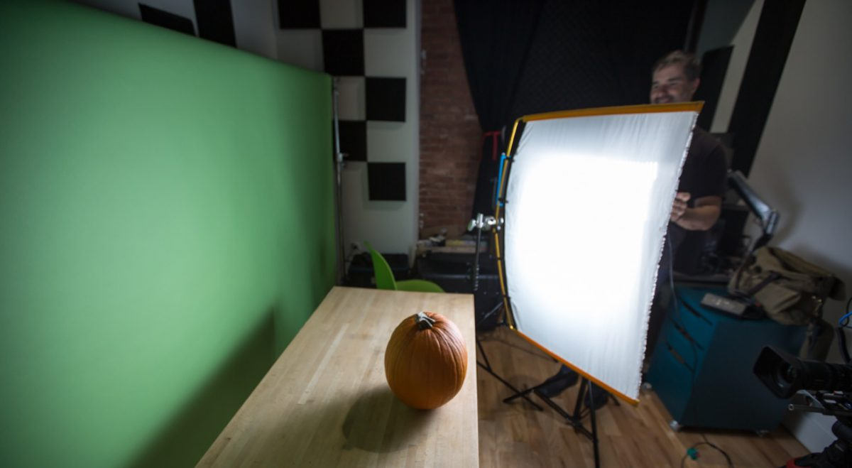 studio lighting for stop motion animation