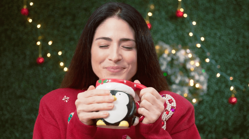 Using Vintage Lenses for Holiday Flair