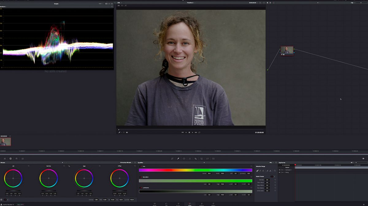 Color Correction Log Footage