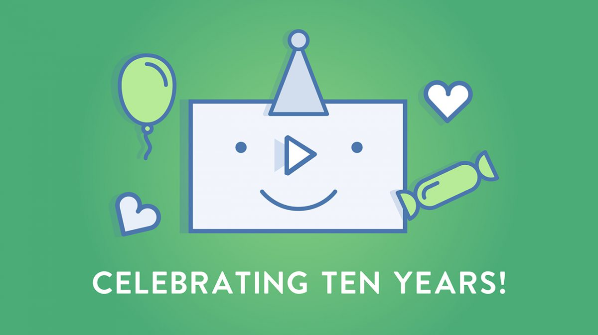 SproutVideo's 10th Anniversary