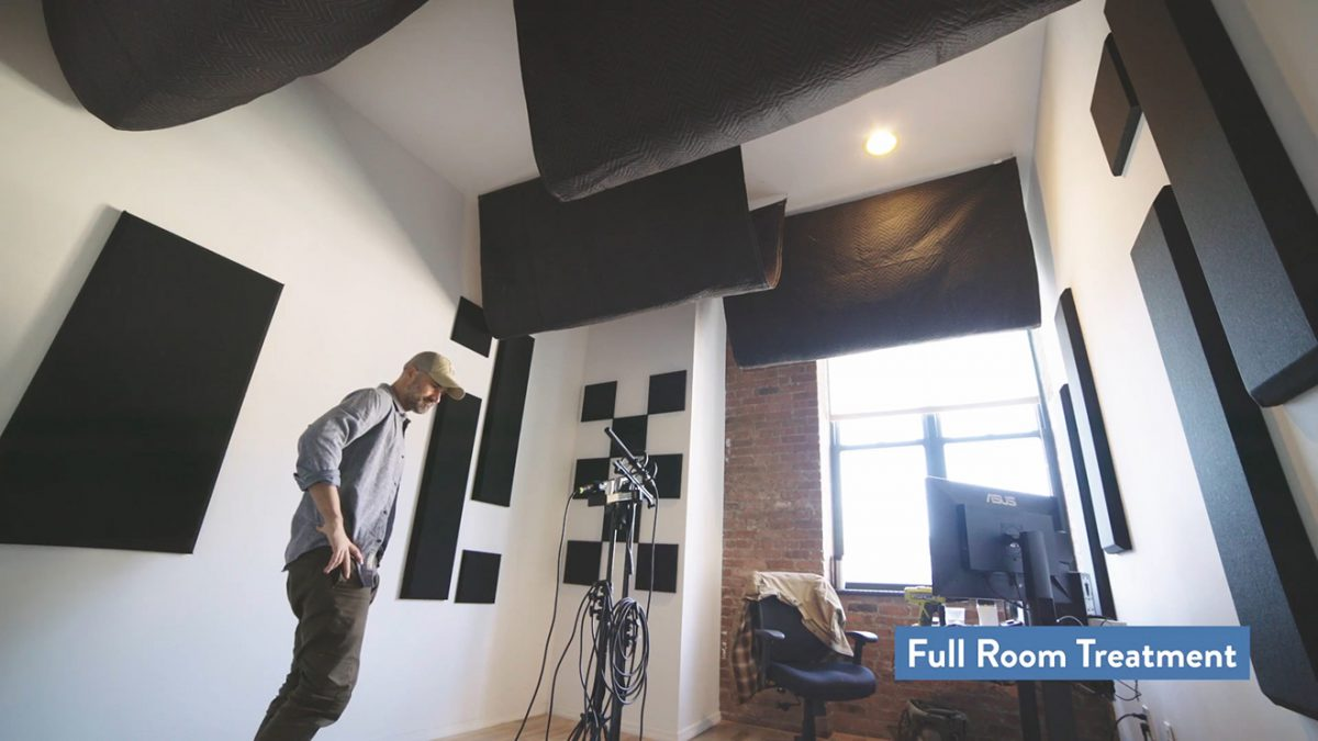 How to Condition Your Home Studio for Better Audio