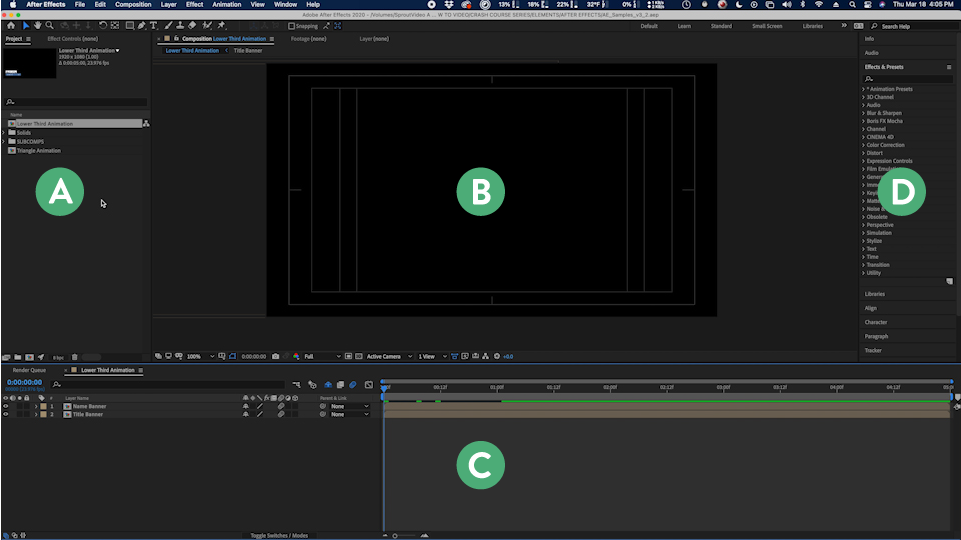 Adobe After Effects: The Basics